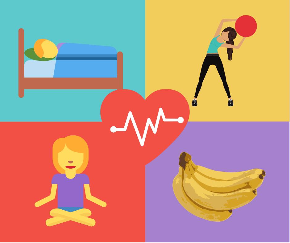 Corpo, mente e espírito saudáveis